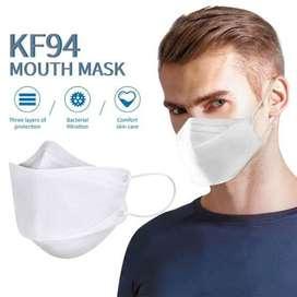 Jual Masker KF94 design Fish Type/ Masker Artis Korea