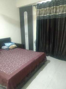 Two BHK deluxe flat with one balcony extra room with stilt parking