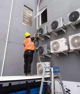 Teknisi ac service AC kulkas pompa air  water heater