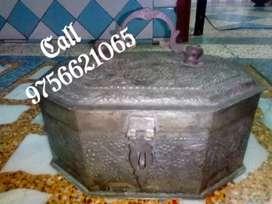 Antique copper Mughal Pandan