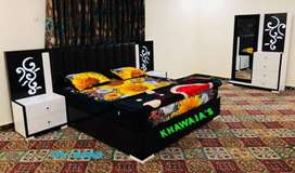 A Double Bed with dressing ( Khawaja's Fix price shop