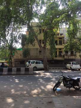 ON ROAD SECOND FLOOR 2BHK BUILDER FLAT WITH PARKING FULLY COMMERCIAL..