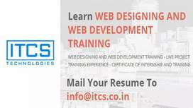 web design internship and graphic designer