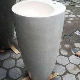 Washtafel Dungdung Bahan Marmer