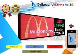 Pusat Grosis LED : Running TEXT, Videotron, Jadwal Sholat, Jam Digital