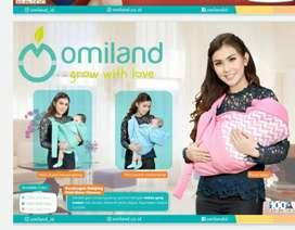 Gendongan Bayi Samping Omiland OBG 2103 Pink