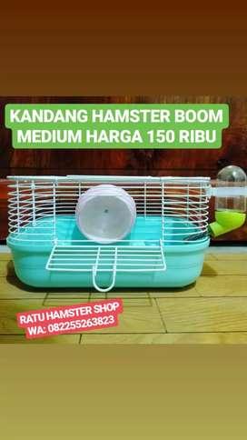 Kandang hamster boom sedang
