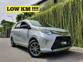 Toyota Calya 2018 LOW KM 9rb pajak panjang bukan bekas grab atau gocar