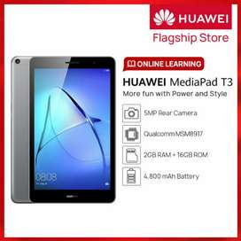 Huawei Mediapad T3 8.0.  2/16 wifi. Qty Available
