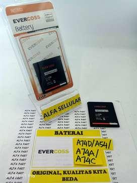 Baterai Evercoss A74D A54 A74A A74C Original Bergaransi