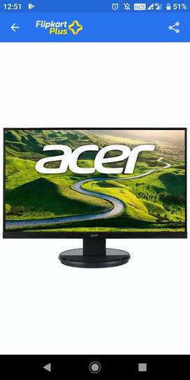 Acer 22 inch monitor with warranty and bi