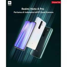 SALE Redmi Note 8 Pro 6/64 NFC BNIB grs resmi TAM cod Bdg kota FreeOng