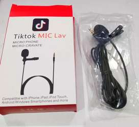 Mic for Tiktok and YouTube video recording