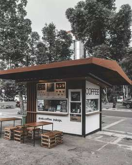 Container cafe/container kedai