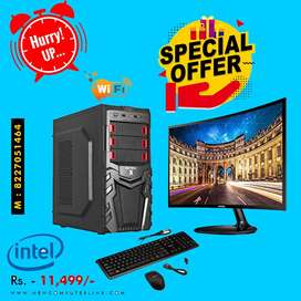 "Brand New Full Set Desktop PC With 8GB Ram & 18"" LED   3y Warranty"