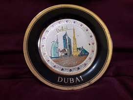 Pajangan Souvenir DUBAI prada emas