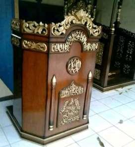 mimbar masjid mihrab berkualitas