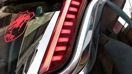 Jeep compass rear pillar lights