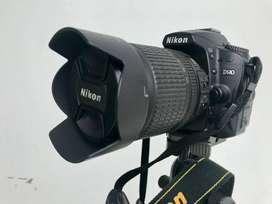 Nikon D90 + 18-105mm VR Kit +AF Nikkor 50mm 1.8D