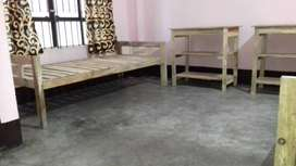 Single room with & without attached bath for boys at survey,beltola
