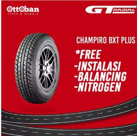 Ban mobil merk GT radial champiro bxt plus 185 70 R14  brio agya vios