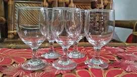 Gelas minum / tamu / wine merk HS Original
