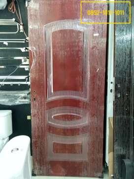 Daun Pintu + Kusen Kamar Tidur / Rumah Plat Baja Kodai Murah Palembang