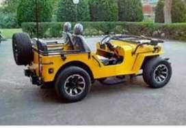Mahindra broad Willy modified jeep