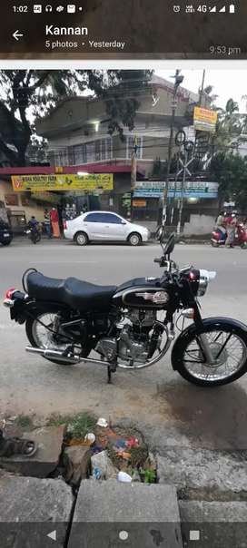 1991 model bullet,left side brake,good sound and conditions-