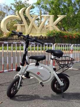 sepeda listrik DYU import Ex singapore