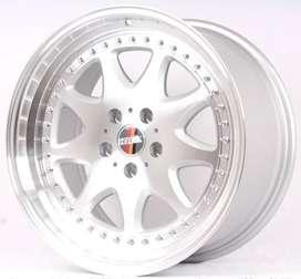 jual Velg Crv,Mercy,Mazda6, type->BAVARIA DM145 HSR R18X85-95