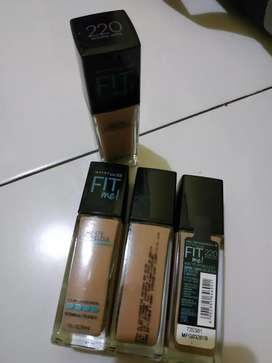 Maybelline fit me! Foundation matte +poreless 220 natural beige