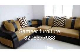 L modular sofa set curnar set Sameer furniture 43