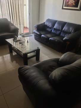 Godrej sofa and center table