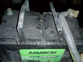 Tractor  new battery of Amaron company