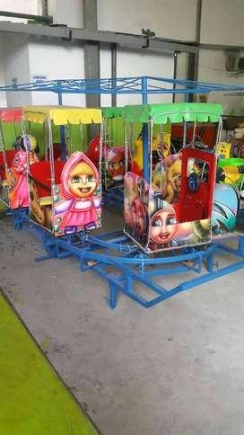 mainan eskavator edukasi anak EK odong kereta mini coaster paket hemat