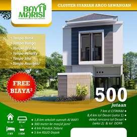 Bayti Marisi Cluster Syariah Arco Sawangan Depok