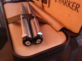 PARKER Ballpoint&Pencil,Sepasang,Made In UK,Mulus,No Scratch.