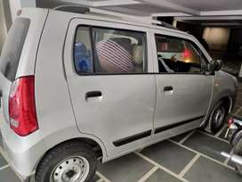 WagonR 2014 lxi silver running 14000 km only