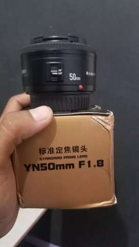Lensa Youngnuo 50mm Like New