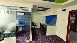 Near c21 mall fully Furnished office available on rent call 4 visit