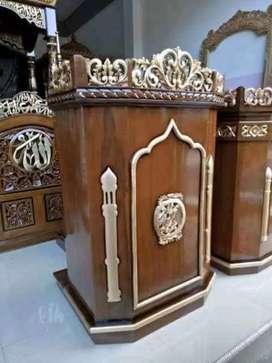 mimbar masjid biasa new