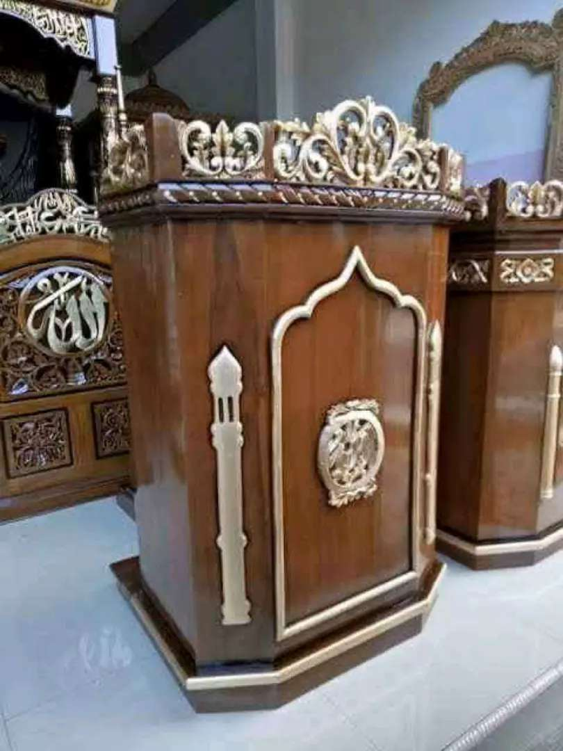 mimbar masjid biasa new 0