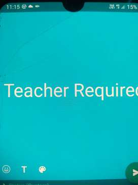 Female teacher required for class 1st to 10th