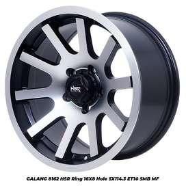 Velg Offroad Mobil Inova Xpander Terios Rush HSR Ring 16 Lebar 8