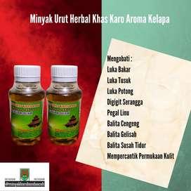 Minyak Urut Herbal Karo Aroma Kelapa