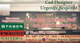 Female Cad Designer