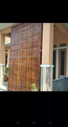 Tampias tirai bambu