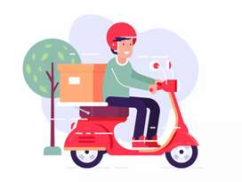 We are Hiring Delivery Boy.