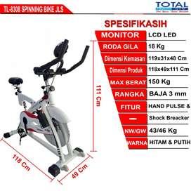 Alat Fitness Spinning Bike JLS - New Spining Bike Total Fitnes